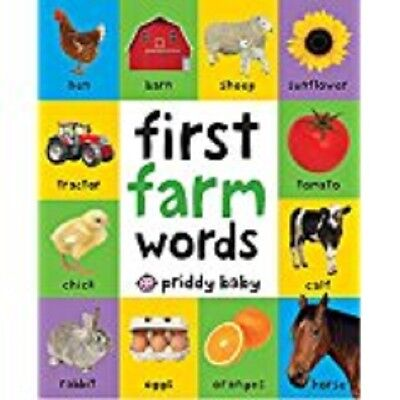 First Farm Words / First 100 Soft To Touch9781783414673
