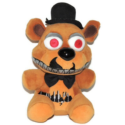"""Five Nights At Freddy's 6"""" Funko Nightmare Freddy Plush Character Bear Toy"""