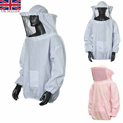 Beekeeping Jacket Net Veil Mask Beekeepers Bee Suit Coat Clothes Clothing Smock