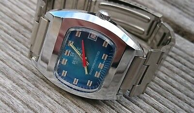 Vintage 1970´s NOS Buxotte Swiss Made Armbanduhr Watch 17 Juwels
