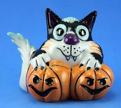 Lorna Bailey PUMPKIN GNASHER THE CAT COLOURWAY LIMITED EDITION 1/1