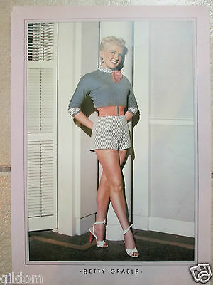 Betty Grable / Photo Poster Pin Up Image