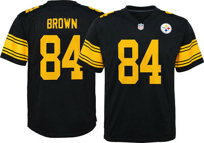 Pittsburgh Steelers Antonio Brown #84 NFL Player Jersey