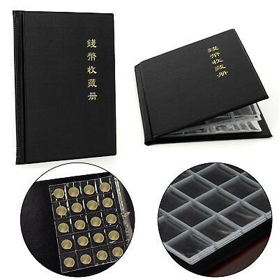 Album de Poche Noir Classeur ragement 200 Pieces Collection monnaie numismates