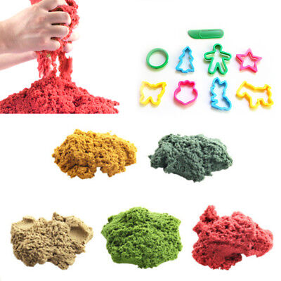 100g Dynamic Sand Magic Kinetic Clay Squeeze Playdough Fun Gift Educational Toy