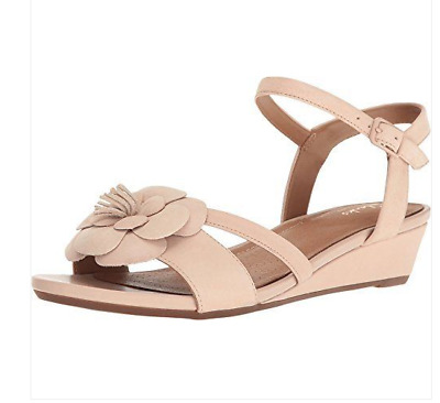 5a9cd7373 Clarks Parram Stella Womens Ladies Sandals Size UK 4 D Dusty Pink Nubuck