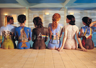 Pink Floyd Back Catalogue Giant Poster 100x140cm Classic Dark Side Of The Moon