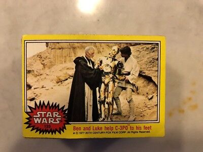 1977 Topps Star Wars Complete 66-Card Yellow 3rd Series ROUGH Set #133-198