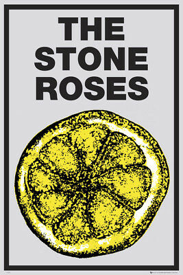The Stone Roses Lemon Maxi Poster Print 61x91.5cm   24x36 inches Rock Adored
