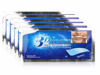 Super Professional Teeth Whitening Strips + 3D Crestasmile White Toothpaste