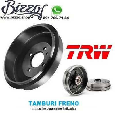 Coppia Tamburi Freno Audi 80 Trw Db4014