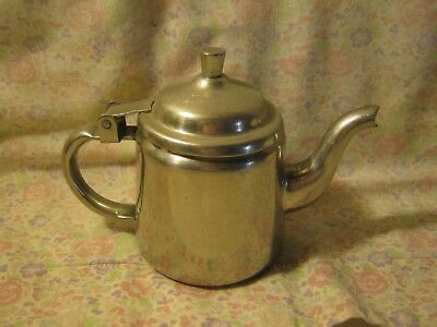 Lipton Tea Stainless Steel 1 cup  teapot FREE SHIPPING