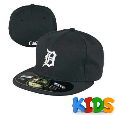 Detroit Tigers Officially Licenced MLB KIDS New Era 59FIFTY Fitted Cap