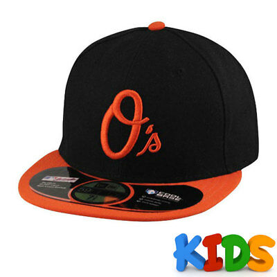 Baltimore Orioles Officially Licenced MLB KIDS New Era 59FIFTY Fitted Cap