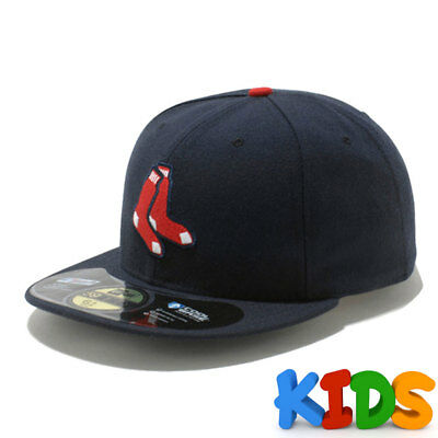Boston Red Sox Officially Licenced MLB KIDS New Era 59FIFTY Fitted Cap