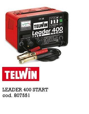 Caricabatterie Boost Leader 400 Start Avviamento 12/24 V.