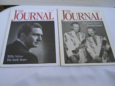 Willie Nelson, The Louvin Brothers in The Journal, Issues 25-28, Feb. & Aug. '95