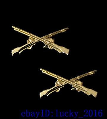 Kuomintang metal emblem rifle collar insignia badge Medal
