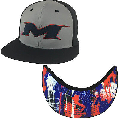 Miken Hat by Richardson (PTS30) Navy/Navy/Grey/Red/Navy Graffiti SM/MD
