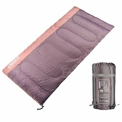 Sleeping Bag Backpacking Cotton Portable Outdoor Hiking Camping for Men/Women