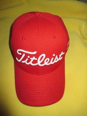 Titleist Bob Vokey Design Red Bv Tour Cubic Mesh Hat /Cap M/L Brand New Limited