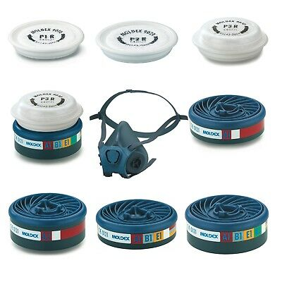 MOLDEX EasyLock Gas Particulate Filters And Moldex Series 7000 Half Face Mask