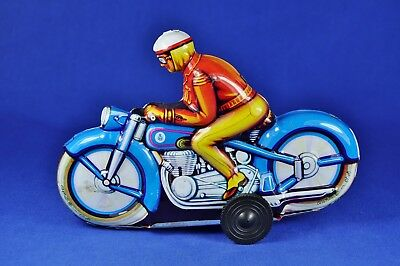 Blechmodell / Tin Toy Niedermeyer Motorrad / Motorcycle , ca. 1960er /1960ies