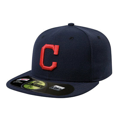 Cleveland Indians Officially Licenced MLB New Era 59FIFTY Fitted Cap