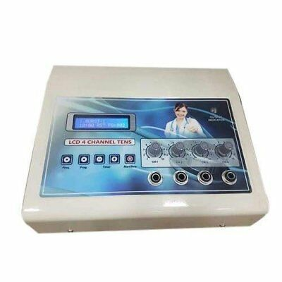 TENS 4 channel LCD Display used in Physiotherapy................................