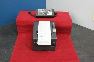 Epson TM-T88V M244A Ethernet Thermal Receipt Printer With PS-180 power supply