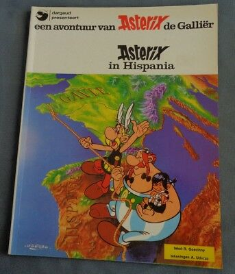 EEN AVONTUUR VAN ASTERIX DE GALLIER 15 in Hispania 1979 strip stripboek album
