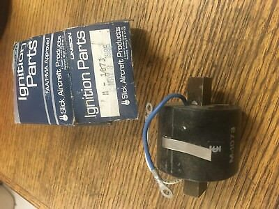 New Slick Aircraft Magneto Ignition Coil M-1073,Continental,Lycoming