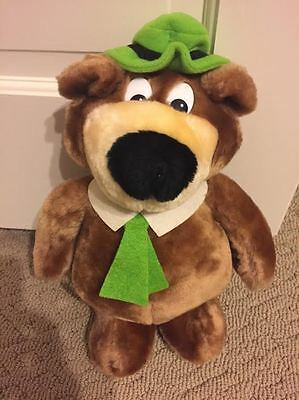 yogi bear plush stuffed hanna barbera 1986 dakin