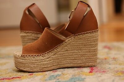acfeaa8efe6 MARC FISHER LTD Adalyn Espadrille Wedge - Women's Size 7M, Natural Suede