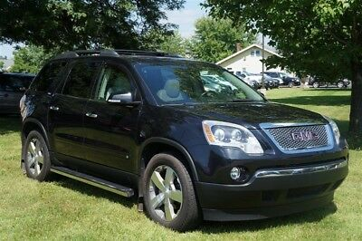 Acadia SLT-2 NAVIGATION LEATHER PANORAMA ROOF BOSE DVD 2009 GMC ACADIA SLT-2 NAVIGATION LEATHER PANORAMA ROOF BOSE DVD 116,471 Miles Gr