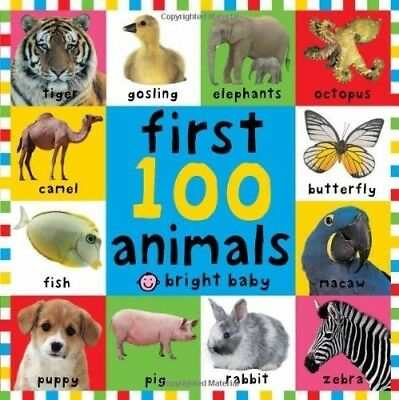 First 100 Animals (First 100) (Bright Baby First 100), New Books
