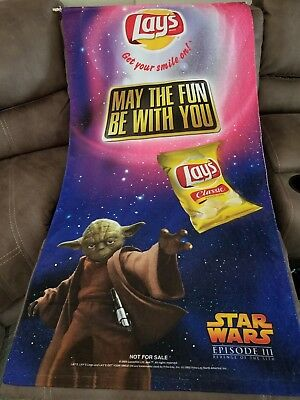 Star Wars Revenge of the Sith Frito Lay Promo Wall Scroll