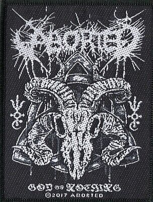 Aborted Patch God Of Nothing Woven Patch
