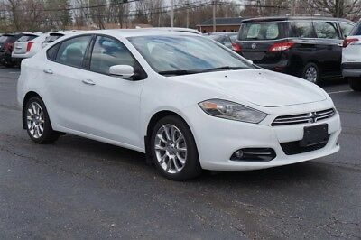 Dart LIMITED NAV SUNROOF LEATHER BLUETOOTH WARRANTY 2013 DODGE DART LIMITED NAV SUNROOF LEATHER BLUETOOTH WARRANTY 30,719 Miles Whit