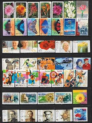 Lot Hb14 Australian Stamp Sets All Different Used