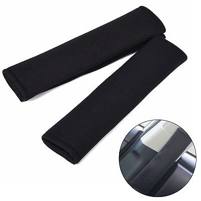Pad Car Seat Belt Shoulder Pads Black Protective Luxury Safety Cover Harness