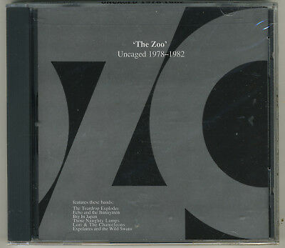 The Zoo Uncaged 1978-1982 Rare OOP CD - Brand New! - Sealed! - Echo And Bunnymen