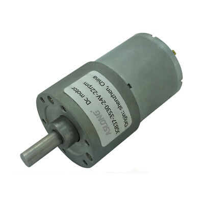 DC12V/24V JGB37-3530 Full Metal Turbo Worm Reduction Gear Motor with GearBox
