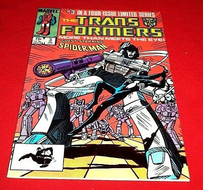 The Transformers # 3 Limited Series (Marvel, 1985) First Printing, VG/FN