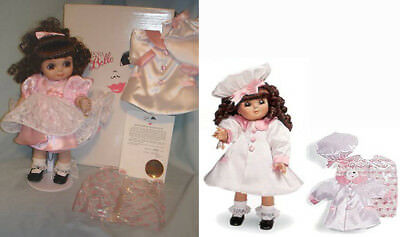 """ADORA BELLE Marie Osmond 13"""" Doll MIB Limited Ed Curly Hair Pink 1st in Series?"""