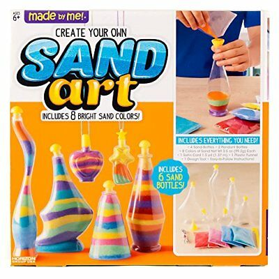 Arts and crafts for girls boys sand creative art bottles kids diy made by me create your own sand art by horizon group usa solutioingenieria Choice Image