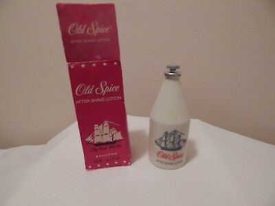 Old Spice Grand Turks Shulton In Box Full Bot.  Vintage Rare 4.25 oz after shave