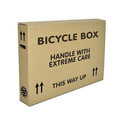 Bike Bicycle Large Boxes Courier Approved-designed by Cyclists for Cyclists Ship