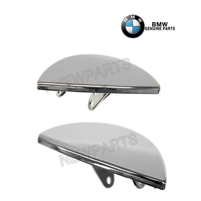 For Mini Cooper R55 R56 R57 Set Left & Right Cover Flap-Headlight Washer Chrome