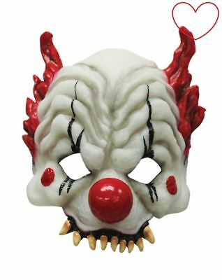 Masque De Halloween En Latex Dessin Clown Cirque Effrayant Masque